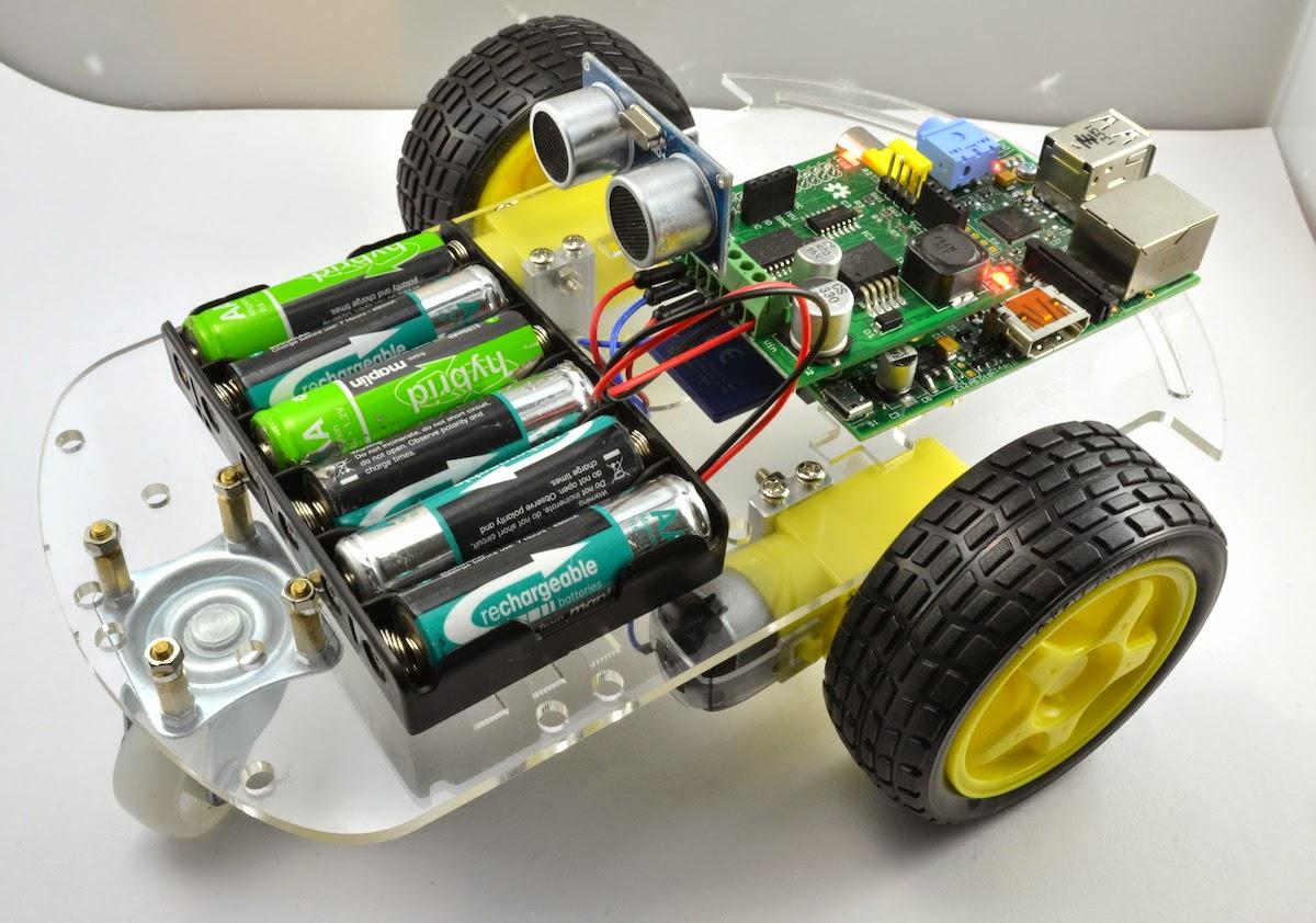 New robot kit for the #RaspberryPi – Raspberry Pi Pod