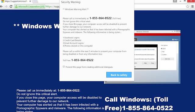 Microsoft Important Alert (Scam)
