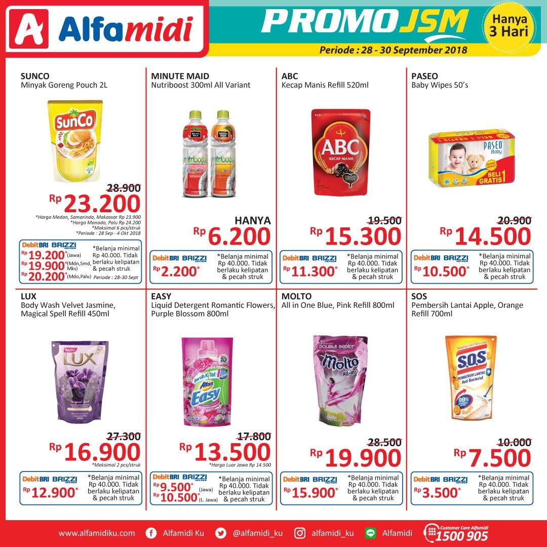 Alfamidi - Promo Katalog JSM Periode 28 - 30 Sept 2018