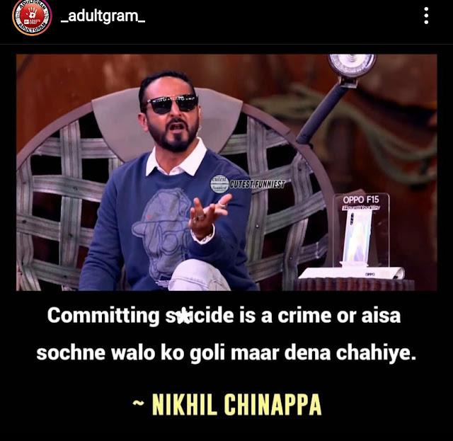 roadies nikhil memes