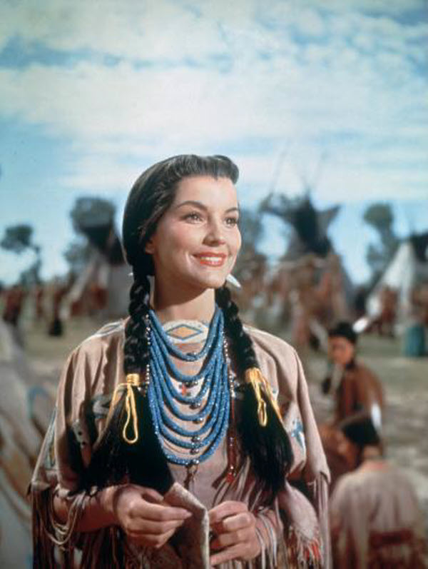 Image result for debra paget in broken arrow