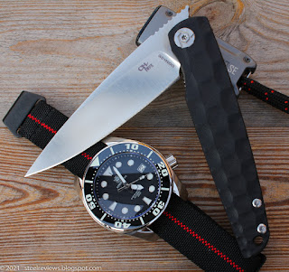 CH Knives CH3541-G10 front flipper