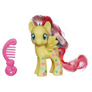 My Little Pony Neon Single Wave 1 Fluttershy Brushable Pony