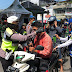 Polres Rejang Lebong dan TNI Bagikan Masker dan Beras