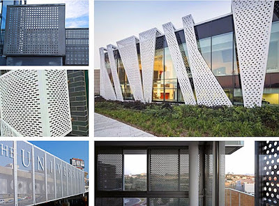 Why perforated metal Sheet is significant choice for Construction?
