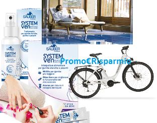 Logo Con Sauber System Ven premi sicuri e vinci 1 bicicletta Wi-Bike Piaggio