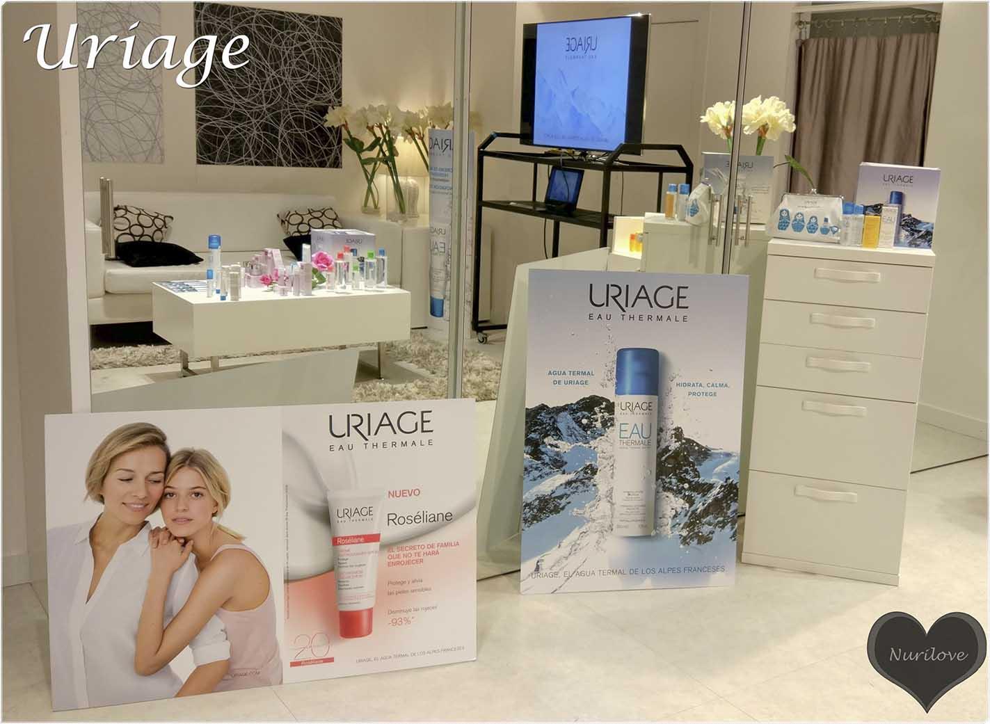 una marca de cosmetica francesa con agua termal