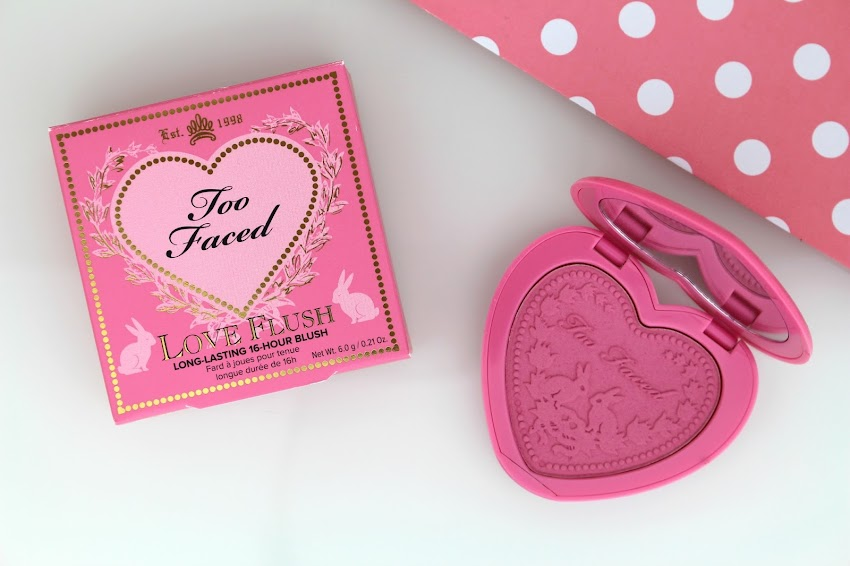 Swap blog beauté blush Love Flush Justify My Love Too Faced