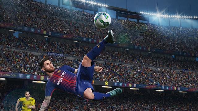 لعبة PES 2018 تحصل على تحديث جديد و هذه مميزاته !