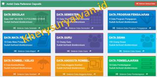 File Pendidikan 5 Cara Mengambil Data Dari Dapodik Ke Dalam Aplikasi Erapor SMP Tahun 2019/2020