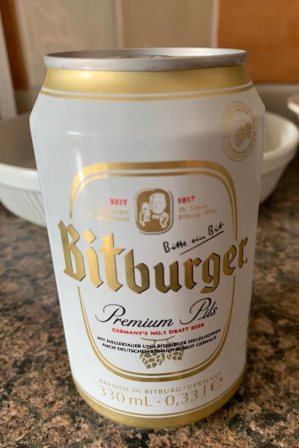 Bitburger Beer (Germany)