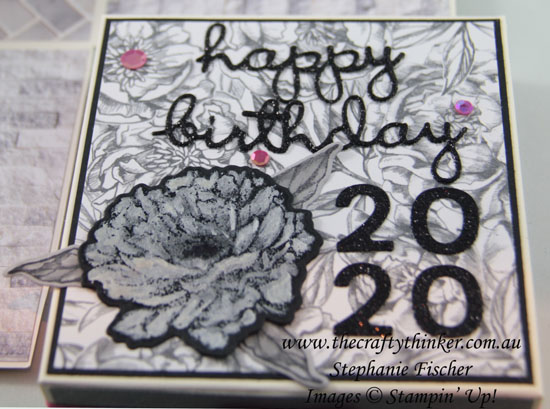 #thecraftythinker #stampinup #explodingboxcard #3dtoiletcard #prizedpeony #funfold #cardmaking #3d , exploding box card, 3D toilet card, Prized Peony Bundle, Stampin' Up Demonstrator, Stephanie Fischer, Sydney NSW