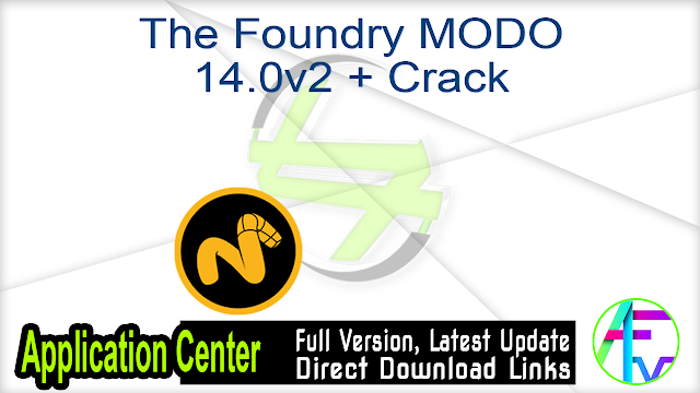 The Foundry MODO 14.0v2 + Crack