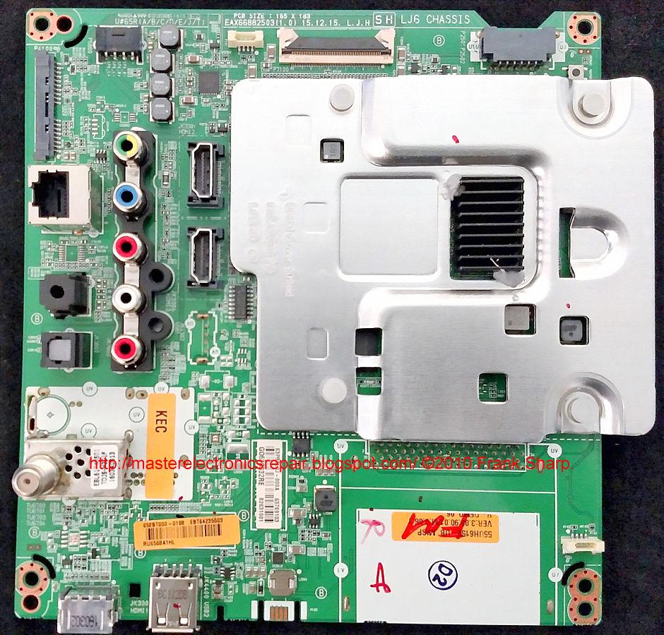 Master Electronics Repair January 2021