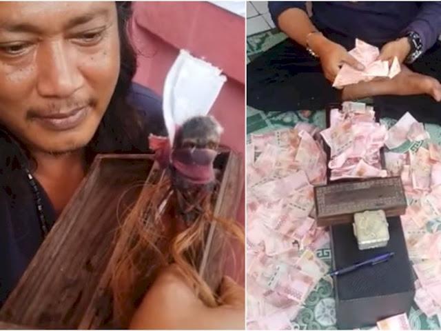 Polisi Tetapkan Ustaz Gondrong 'Dukun Pengganda Uang' Jadi Tersangka