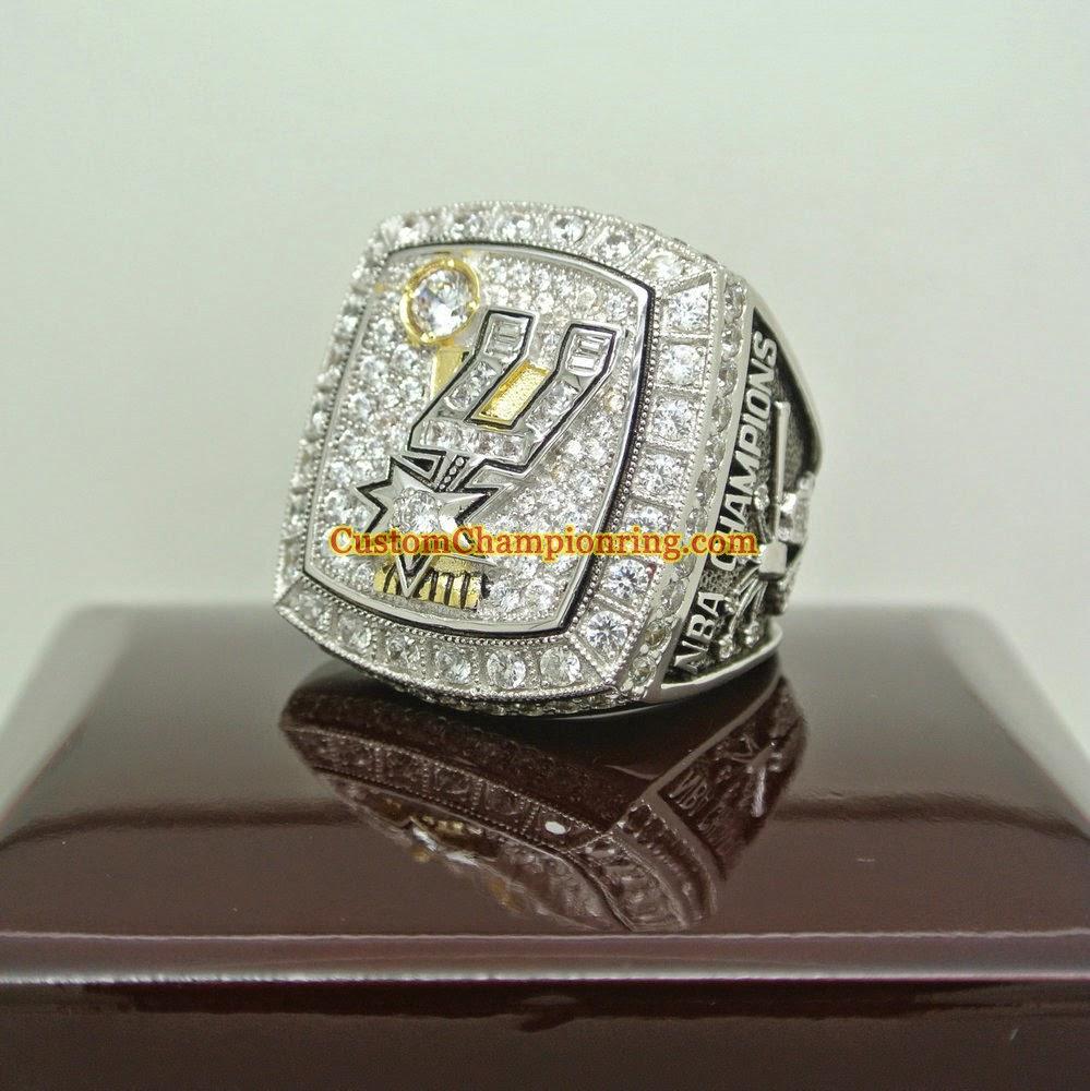 Custom Championship Rings: San Antonio Spurs  Custom Champion...