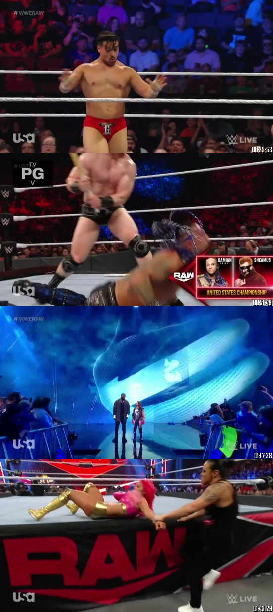 WWE Monday Night Raw 27 September 2021 HDTV 720p 480p 500MB