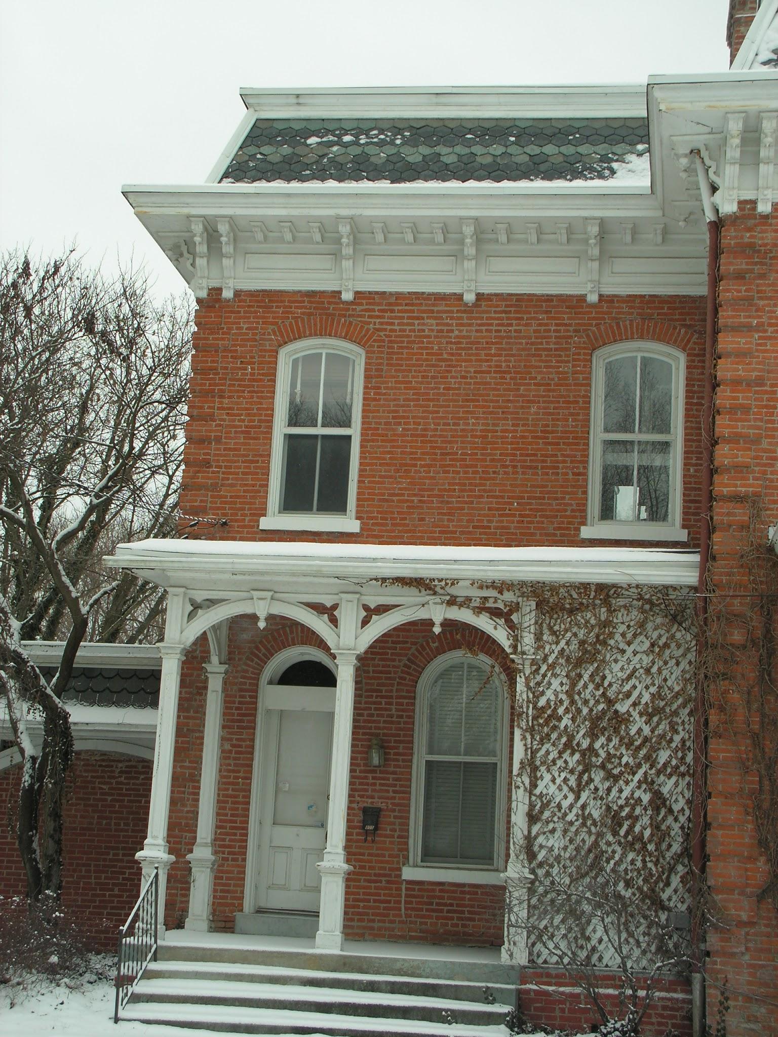 Brick Home Restoration : Victorian home restoration second empire brick