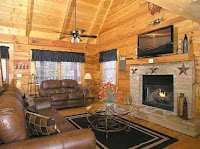 Fireplaces Flat screen TV's in Pigeon Forge