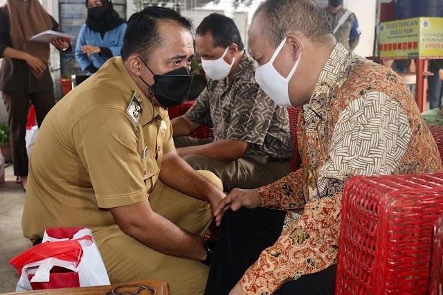 Wakil Wali Kota Medan Salurkan 300 Paket Sembako ke Pertuni Kota Medan