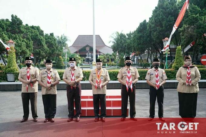 Bupati Haryanto Apresiasi Peran Pramuka Pati Dalam Hadapi Pandemi Covid-19