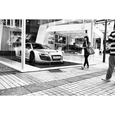 Audi R8 from Instagram
