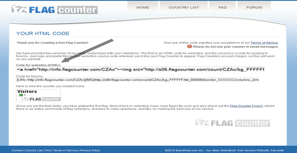 How to Add Flag Counter widget to your Blogger Blog | Blogolect