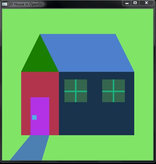 Membuat Rumah Menggunakan OpenGL