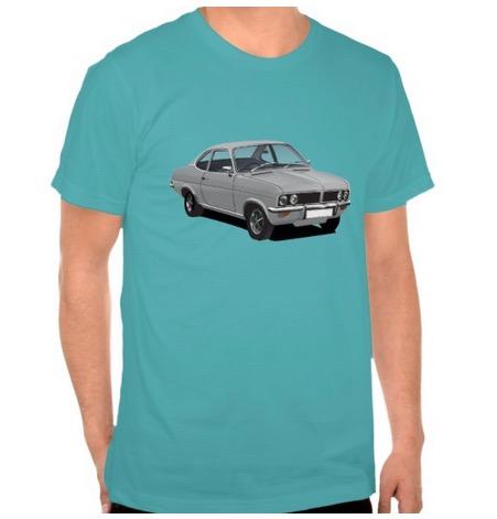 vauxhall, firenza, viva, t-shirts