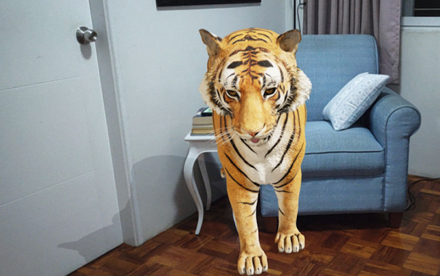 كيفية عرض حديقة حيوانات 3D ثلاثية الأبعاد في منزلك؟