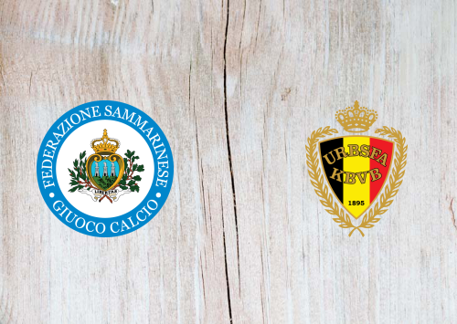 San Marino vs Belgium -Highlights 6 September 2019