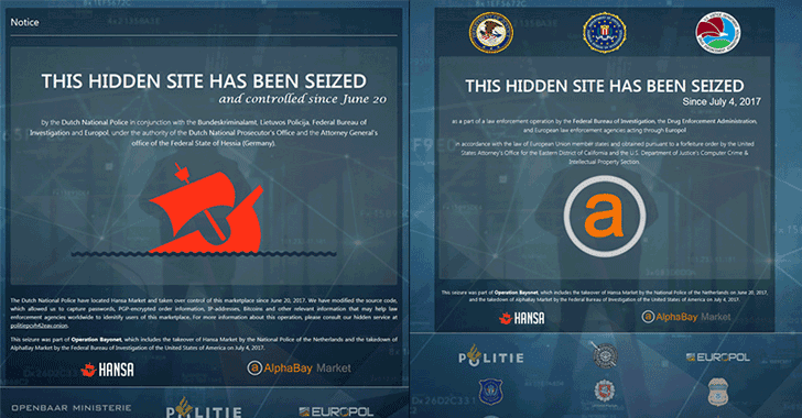 Feds Seize AlphaBay and Hansa Markets in Major Dark-Web Bust