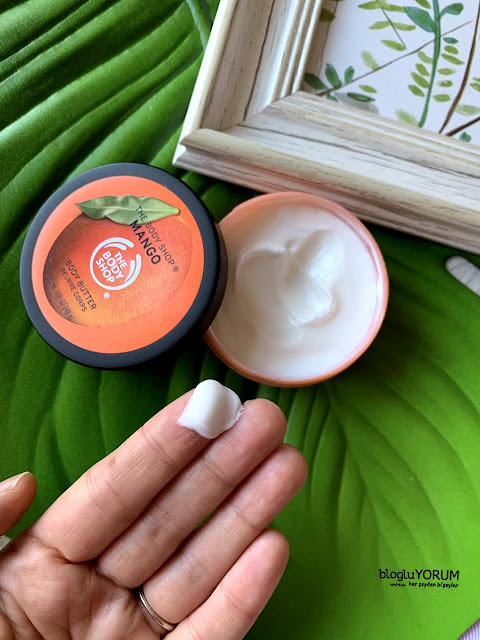 the body shop tbs mango body butter incelemesi 1