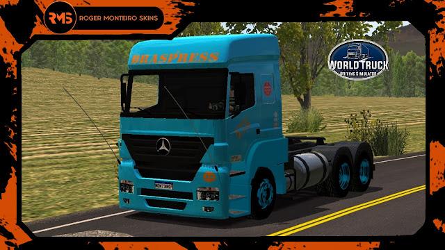 Axor Braspress Transportes - Braspress Transportes - Skins Axor Braspress Transportes