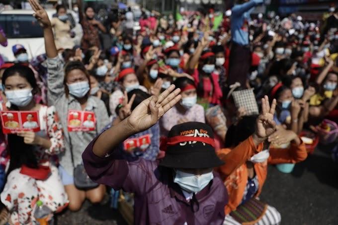 Leállította az internetszolgáltatást a mianmari hadsereg a tüntetések miatt