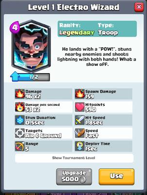 Trik Mendapatkan Legendary Card Di Clash Royale, Hoki Menentukan 16