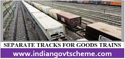 SEPARATE TRACKS FOR GOODS TRAINS