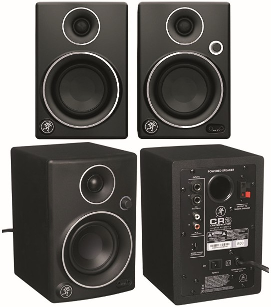 Mackie Studio Monitors: Multimedia CR3 Speakers for Audio-Sound Production