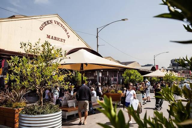 Queen Victoria Market, Vegan Market Melbourne