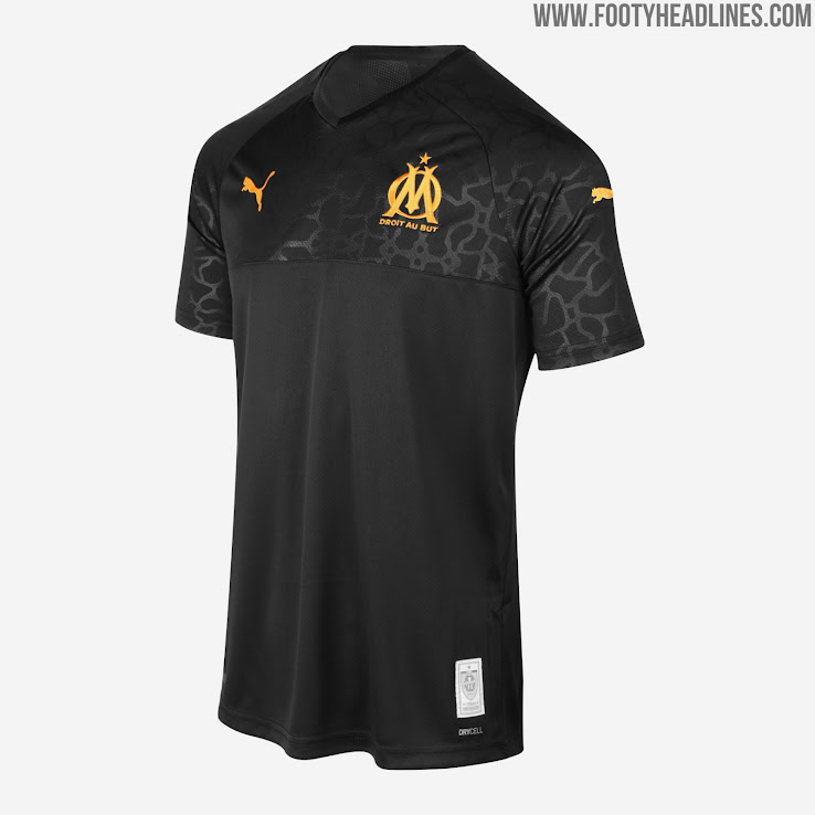 Olympique Marseille 19-20 Away and Third Kits Released - Footy ...
