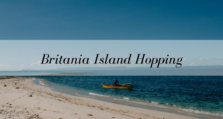 Travel Mindanao Britania Island Hopping