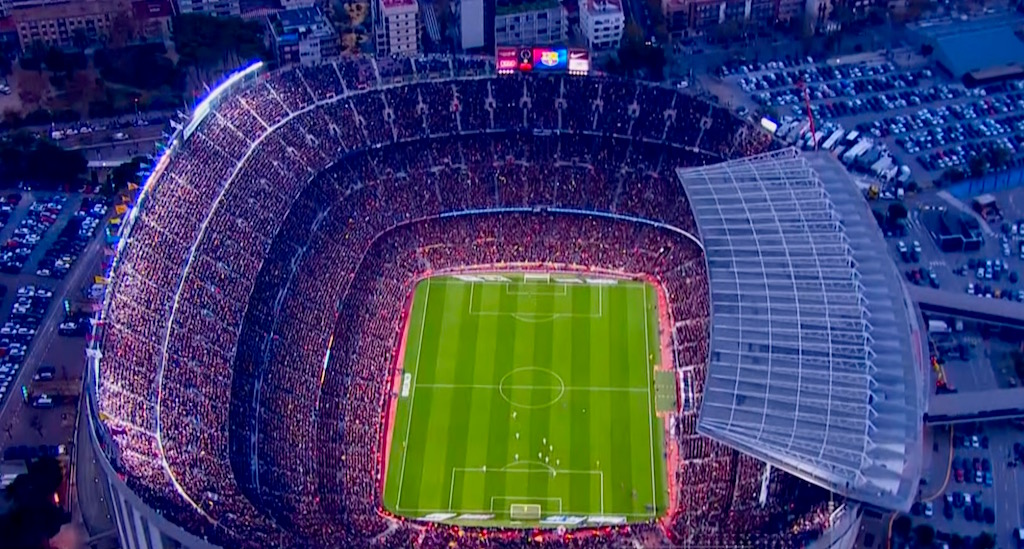 Camp Nou Movistar