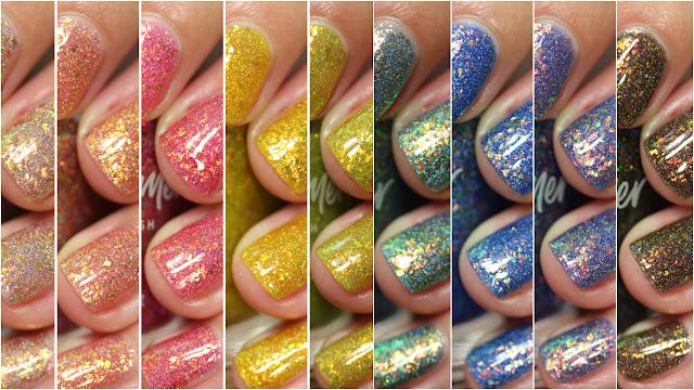 holographic rainbow nail polish Canada