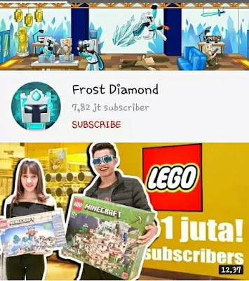 YouTube Game Indonesia - Frost Diamond