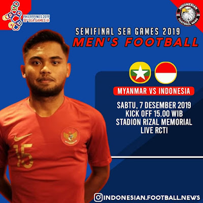 Live Streaming Myanmar vs Indonesia (SEA GAMES) 7.12.2019