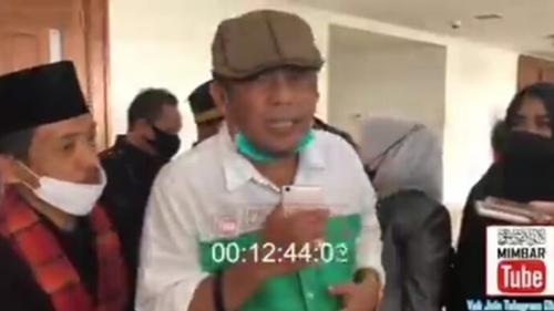 Minta Jokowi Tobat, Eggi Sudjana: Jika Tidak, Akan Terjadi Pembangkangan