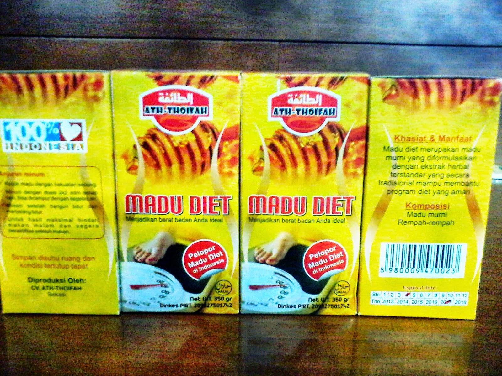 Madu Diet Ath-Thoifah Pelopor Madu Diet di Indonesia
