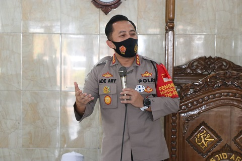 Kapolresta Tangerang Ingatkan Tetap Disiplin Protokol Kesehatan Saat Libur
