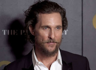 Picture of Pat's brother Matthew McConaughey