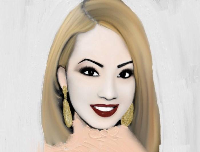 Пуэрториканский художник. Efrain Santos Rodriguez